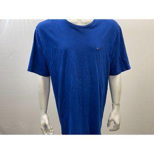 Tommy Hilfiger Men's Blue Squared Logo T-Shirt